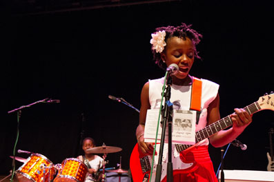 Girls Rock Detroit Summer Camp Performer