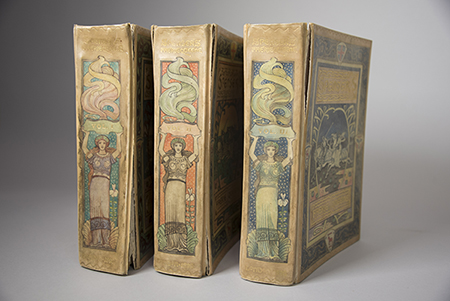 All three volumes of The Faerie Queene