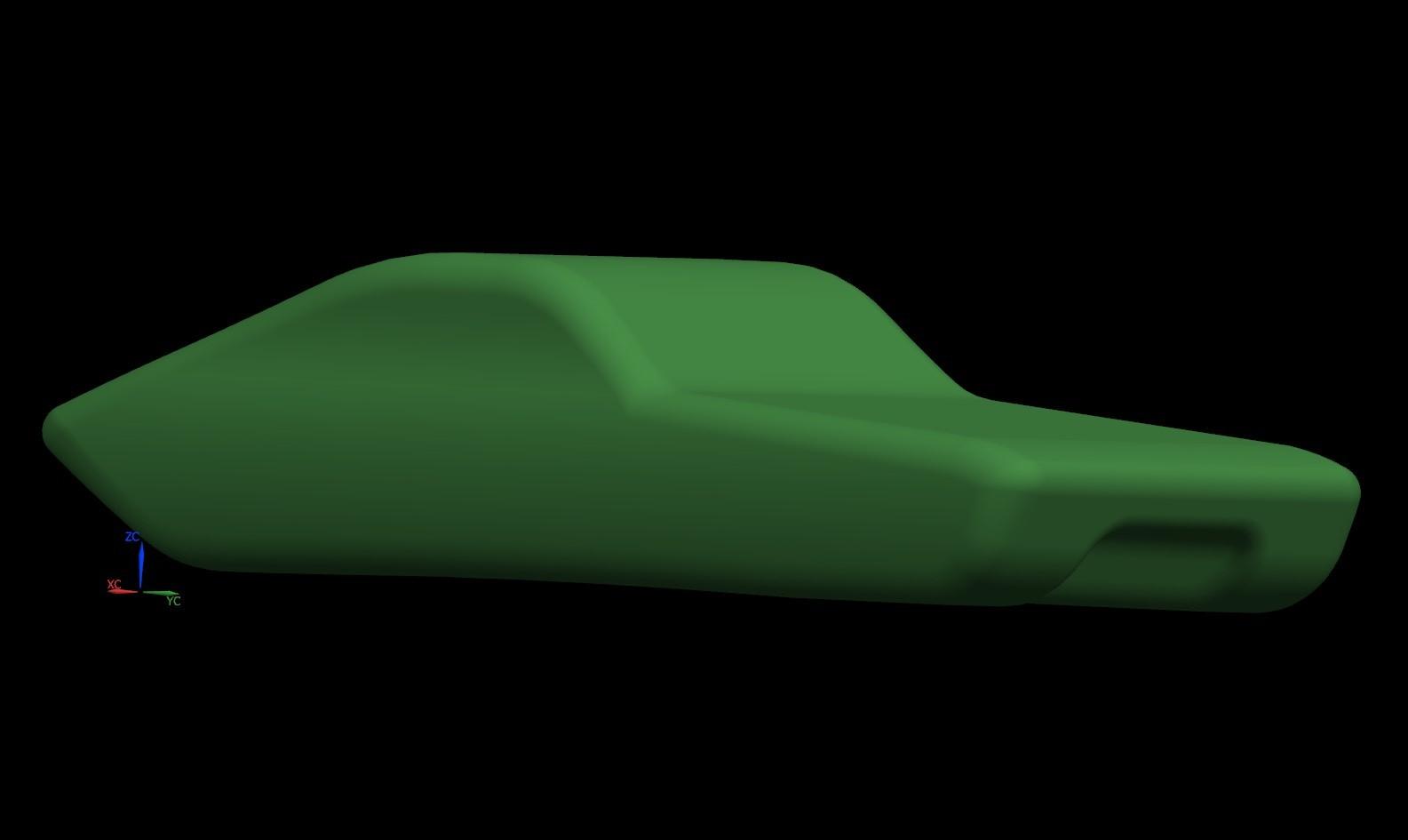 A render of the brand new Aurora design