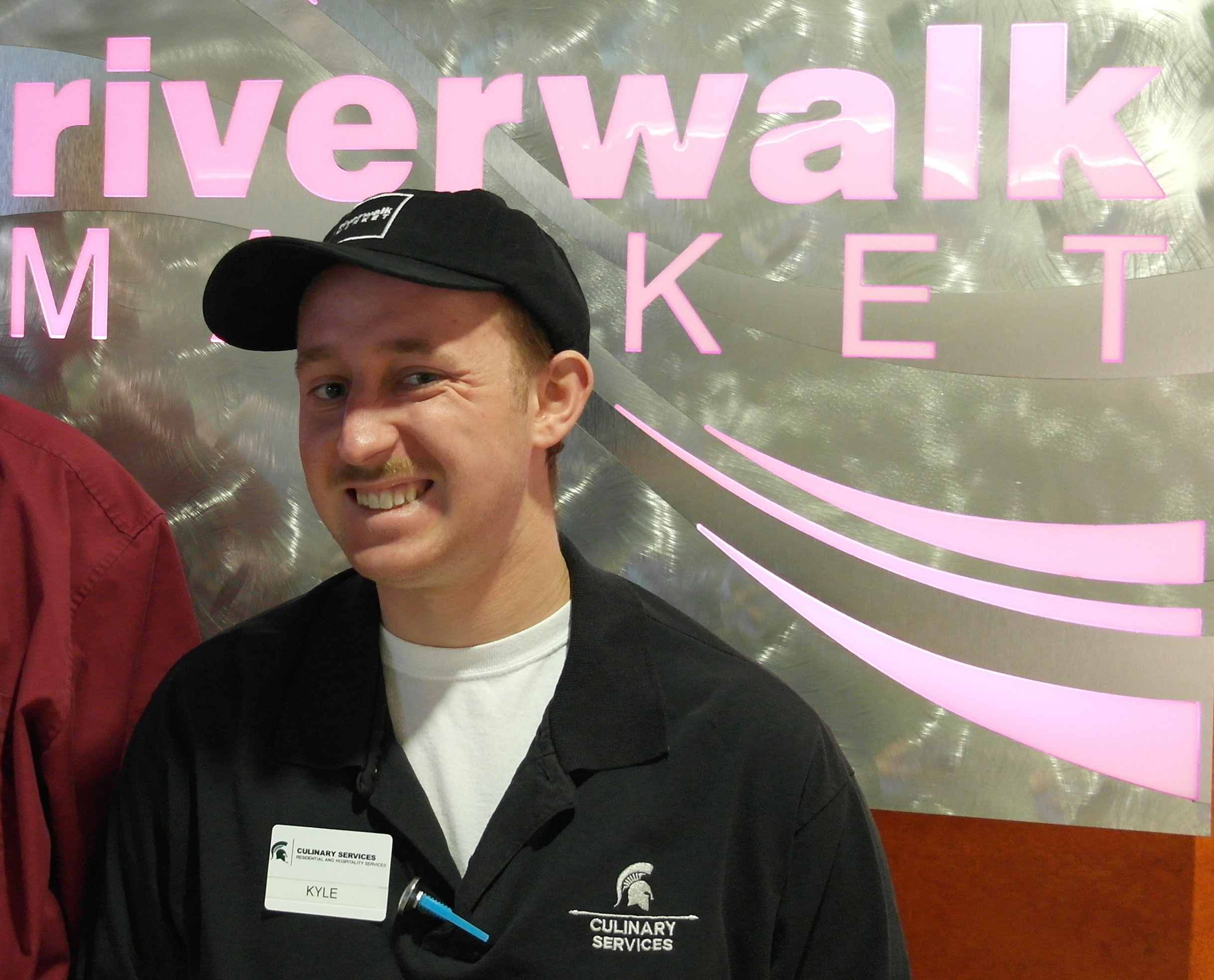 Kyle West an intern with Project Search