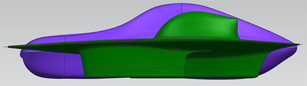 A render of the new car