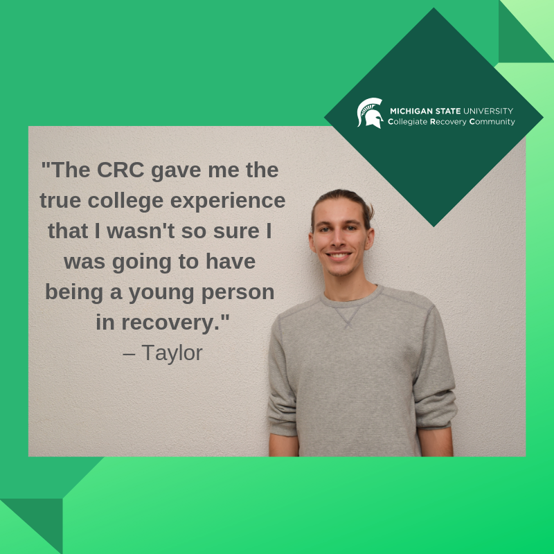 CRC Student Taylor shares his experience