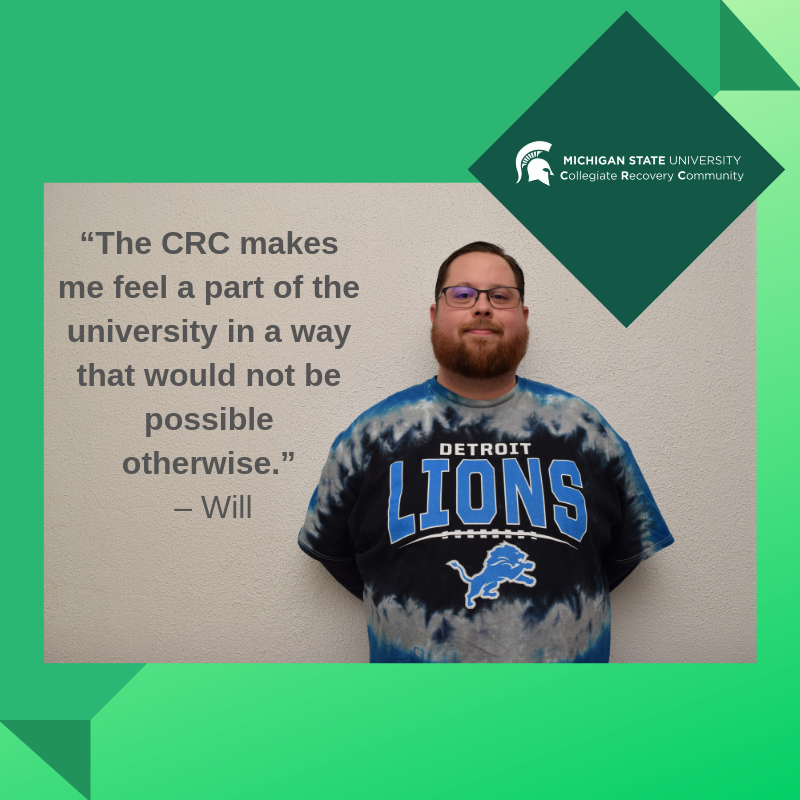 CRC Student Will shares his experience