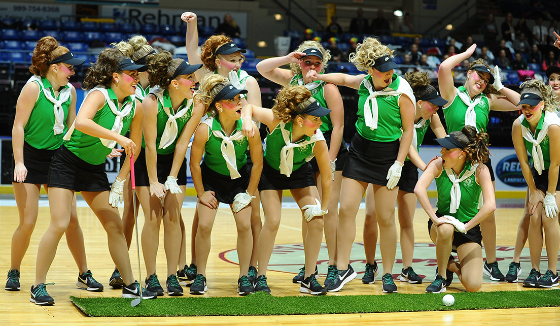 The MSU Pompon team competes around the country