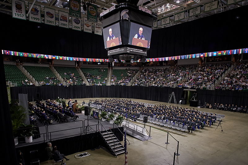 Image of the 2019 Law graduation ceremony