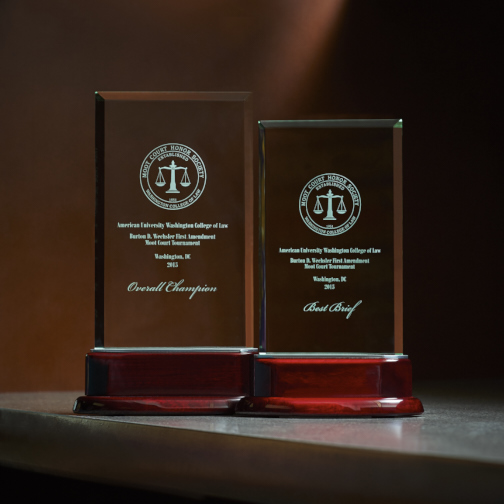 Awards for MSU Moot Court