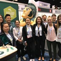 MSU SCM Students at ASCM Conference in 2019