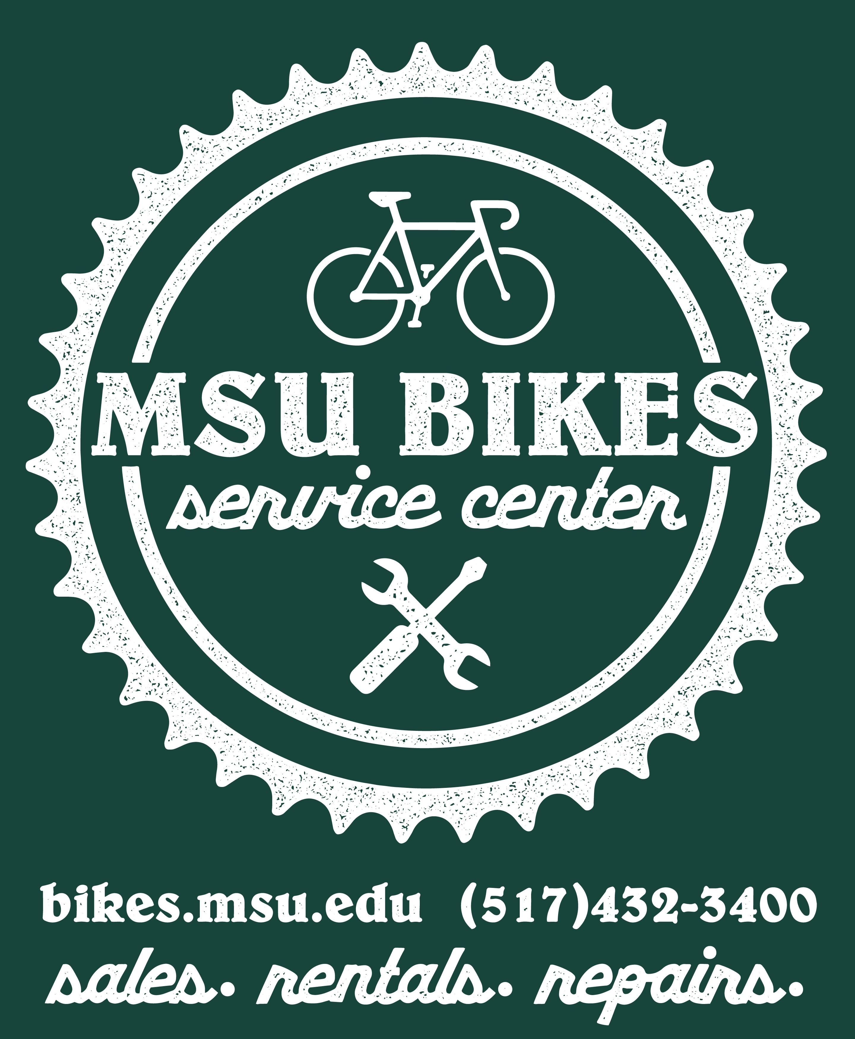 MSU Bikes Logo