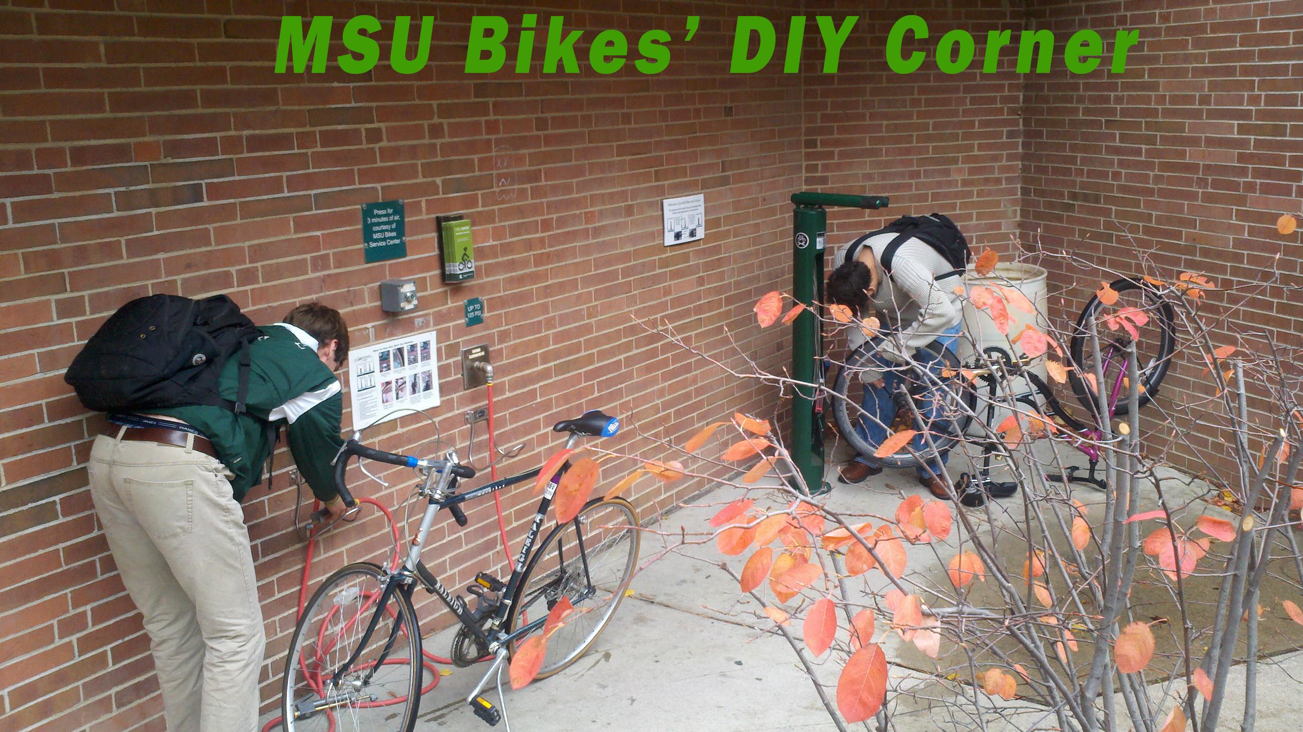 MSU Bikes DIY Corner