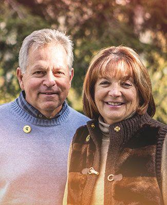 portrait of Ann and Jeff Feld