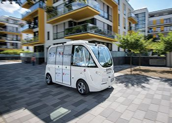 an autonomous vehicle
