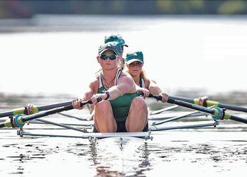 Spartan women rowers