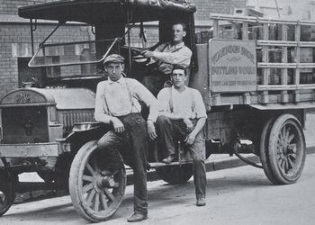 Faygo original delivery truck