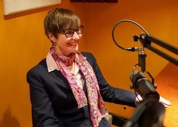 Tanya Jachimiak in studio