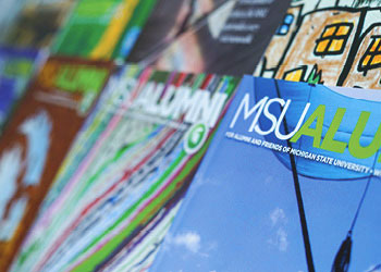 Michigan State University artistic image