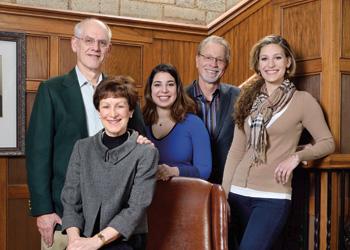 Donna and Marvin Zischke with SHRLR leadership