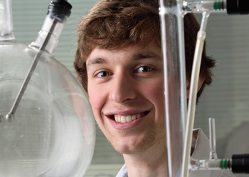 MSU Senior Andrew Baker