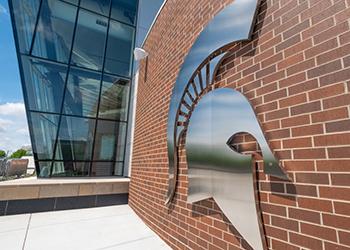 Michigan State University artistic image
