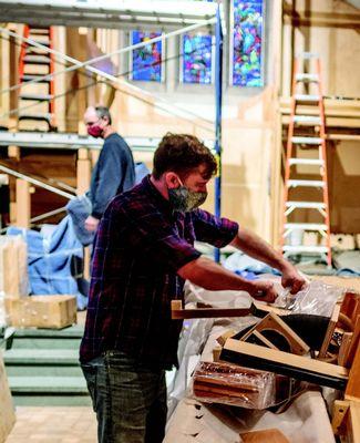 MSU Alumni Chapel new organ