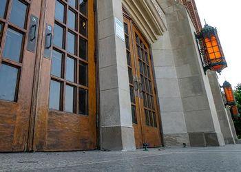 Fairchild Auditorium doors