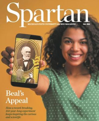 Spartan Alumni Magazine Fall 2020 Cover
