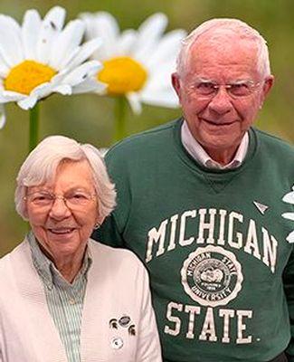 Roger Hoopingarner and Marian Stoll