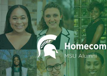 Homecoming Court MSU Alumni