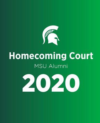 Homecoming Court MSU Alumni 2020