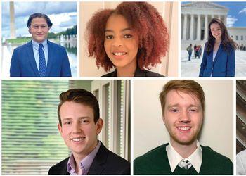 seven students earn prestigious scholarships