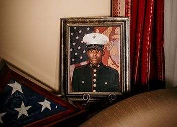 a photo of a portrait of Sgt. Leonard Graham III