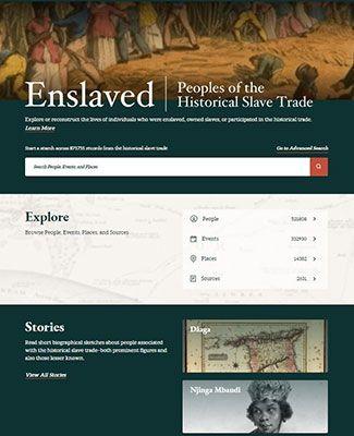 enslaved homepage