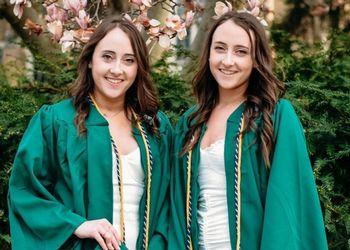 Twins Elizabeth and Erika Ranck