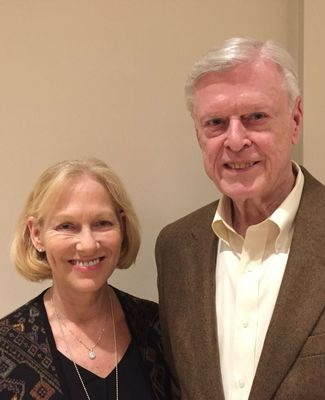 Portrait of Russ and Wendy Palmer