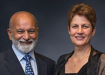 Shashi and Margaret Gupta