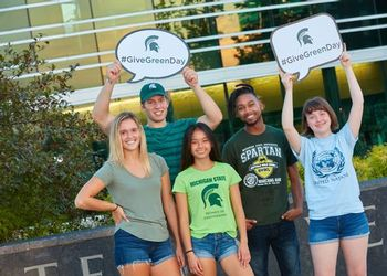 Students prepare for Give Green Day