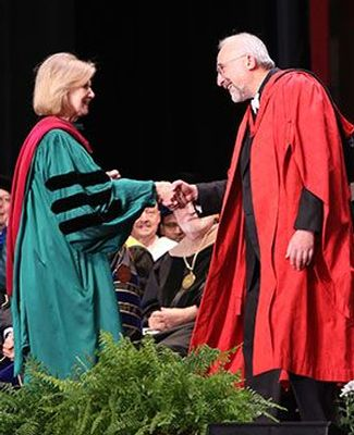 faculty honors at the investiture