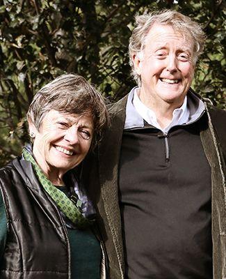 Patty McGuigan and Dick Bush