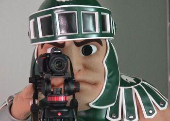 Sparty The Cameraman