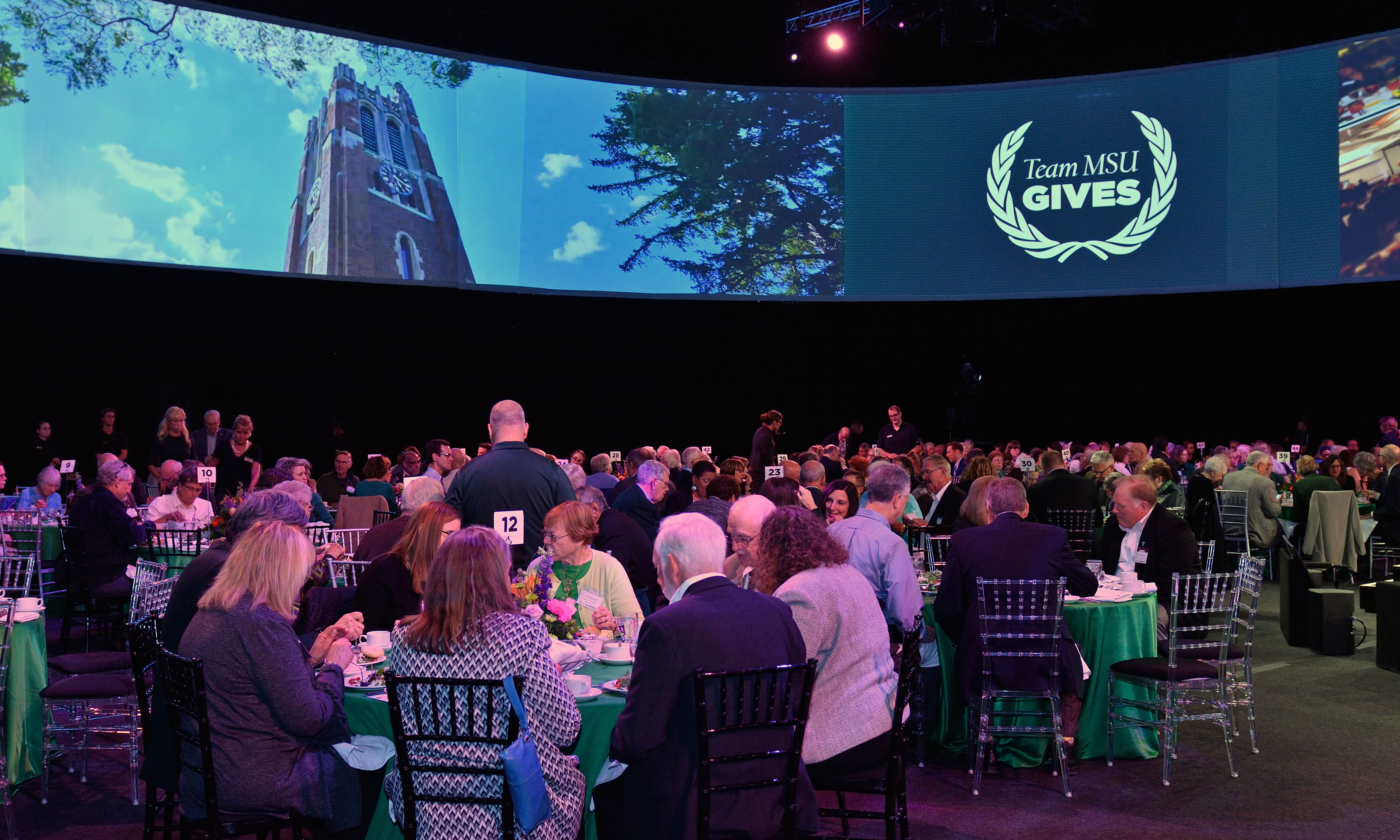 Breslin Center Arena set for the Thanks for Giving Luncheon