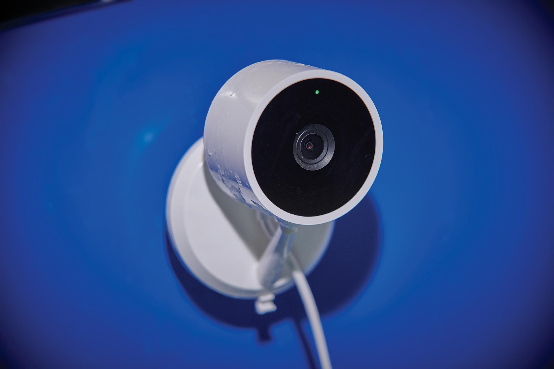 monitoring aquarium video camera