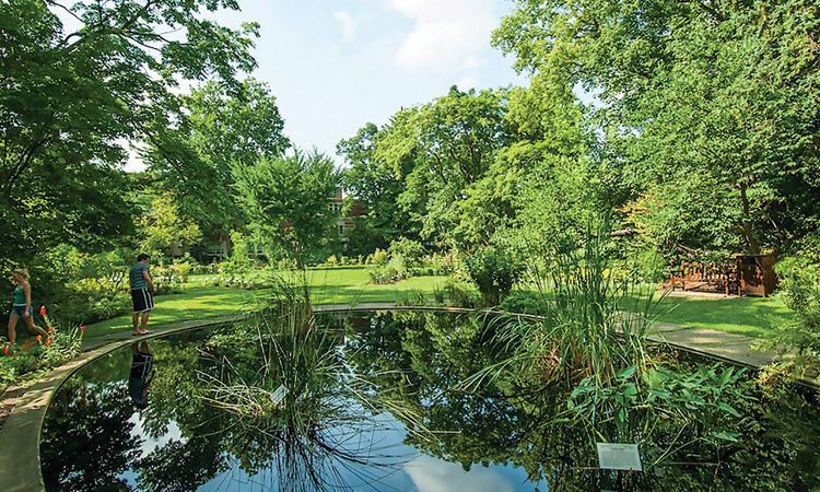 William J. Beal Garden in East Lansing