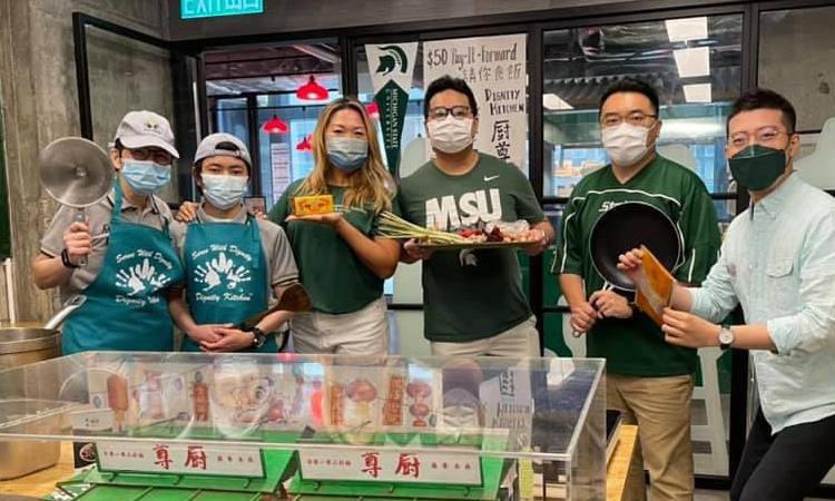 Group photo of Hong Kong Spartans