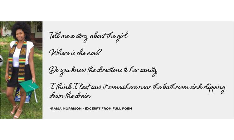a printed poem
