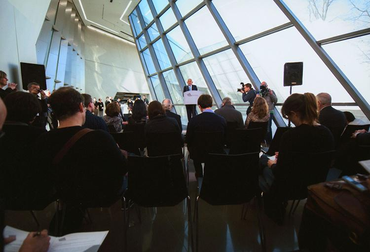 New conference at Eli and Edythe Broad Art Museum