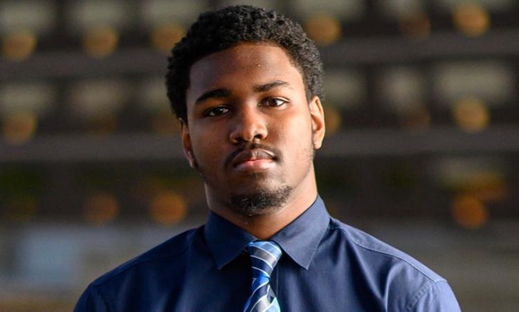 Headshot of MSU Homecoming Court Member, Dantevius Branigan