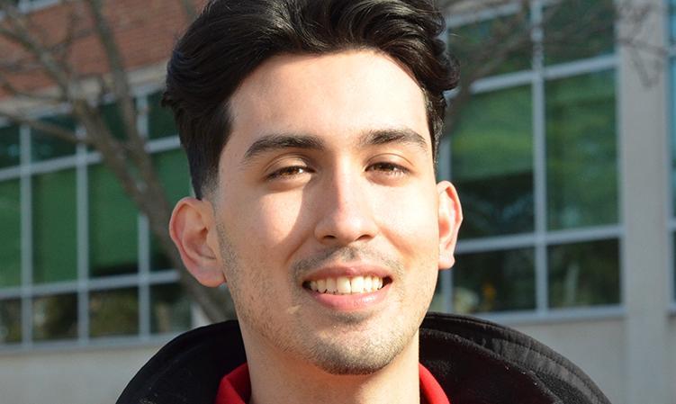 Headshot of MSU Homecoming Court Member, Julian Trevino