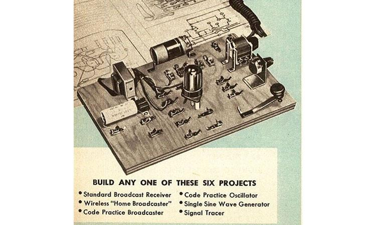 a vintage advertisement for a Knight 6-and-1 kit.