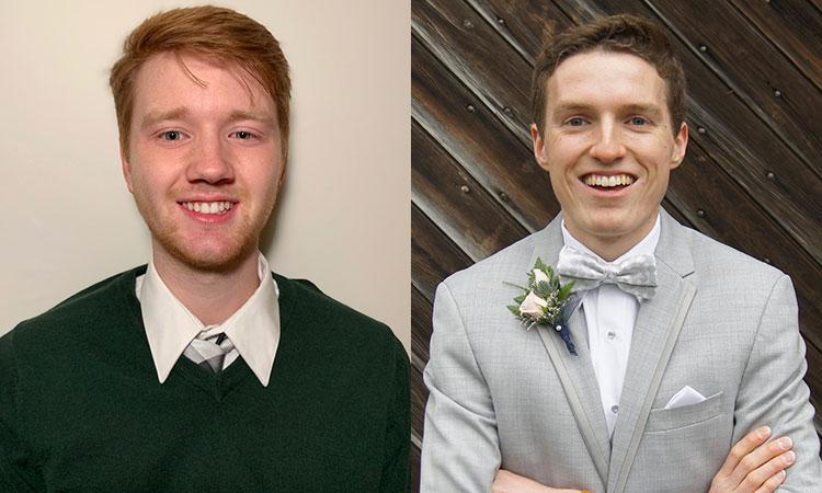 Charles Hultquist and Andrew McDonald