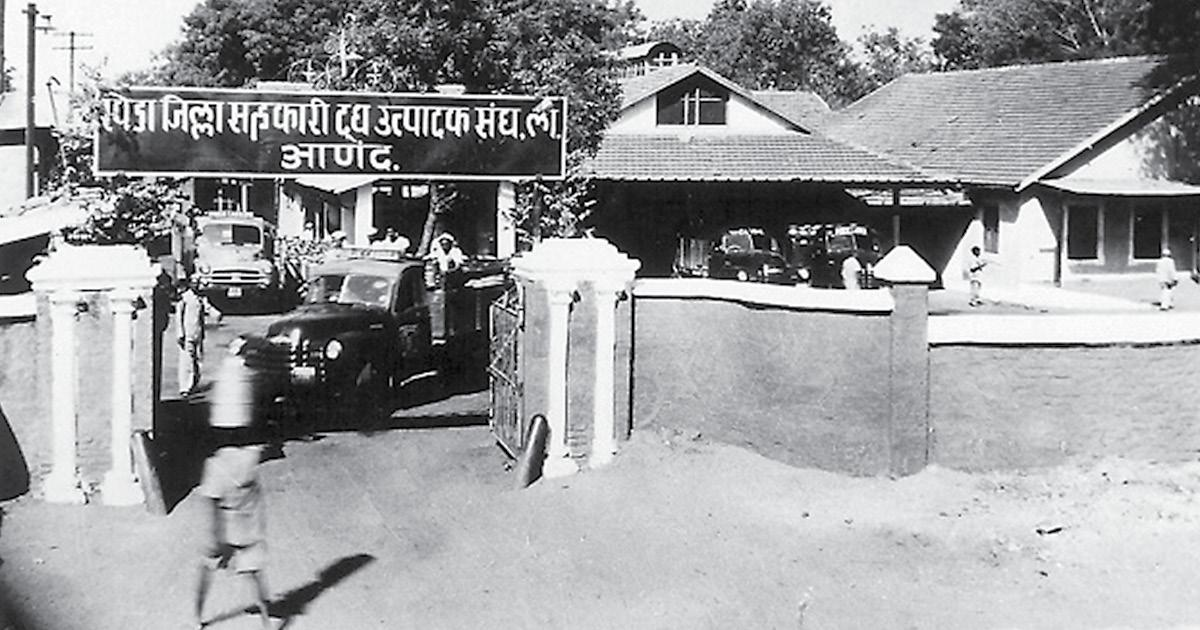 Amul Dairy, 1950s