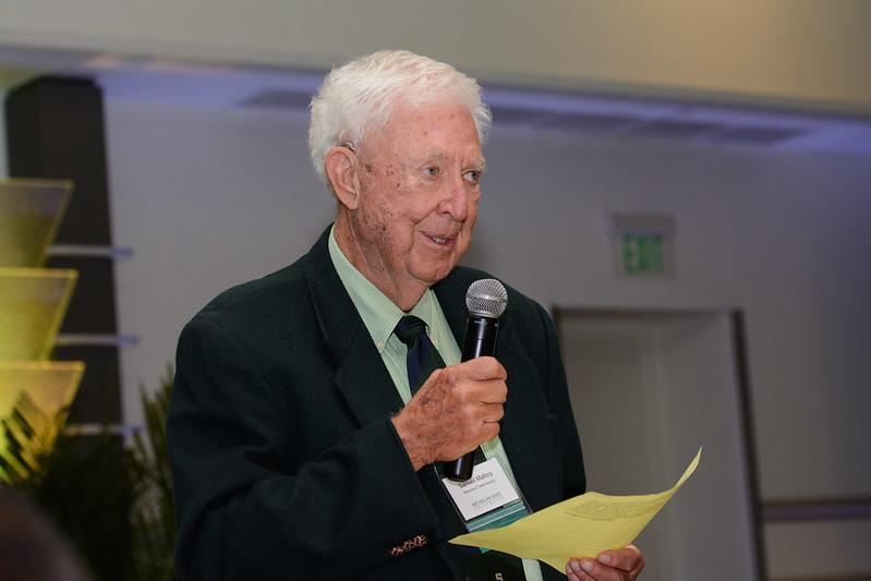 Kedzie Cane Award recipient, Samuel Mallory, '54.